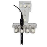AQUA MEDIC Support universel pour 4 électrodes avec réglage de la profondeur d'immersion