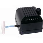 AQUA MEDIC Mistral 4000 pompe à air 4000 L/h à membrane pour aquarium avec réglage magnétique du débit