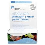 AQUARIUM MÜNSTER Hexamor 20 ml traitement concentré contre la maladie des trous. Traite jusqu'à 400L