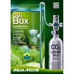 AQUA MEDIC CO2 Box kit CO2 avec bouteille Aluminium rechargeable pour aquarium jusqu'à 200 L