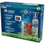 JBL ProFlora m2003 kit CO2 avec bouteille rechargeable 2 Kg, électrovanne et pH-Control Touch pour aquarium de 20 à 1000L