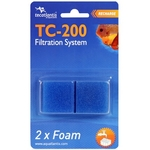 AQUATLANTIS TC-200 2x Foam lot de 2 cartouches de mousse pour filtre TC200