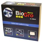 DVH IMPORT BioGro Marine 3 x 500 ml kit complet de réensemencement en bactéries pour aquarium d'eau de mer