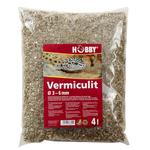 HOBBY Vermiculit 4 L granulométrie 3 à 6 mm substrat pour l'incubation des oeufs de reptiles