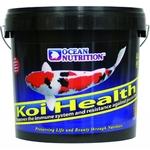OCEAN NUTRITION Koi Health 5 kg nourriture haute qualité en granulés de 3 mm pour Kois avec germes de blé pour basses températures