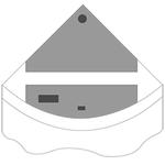 JUWEL Kit de volets de remplacement pour Aquarium Juwel Trigon 190. Livré en 2 pièces