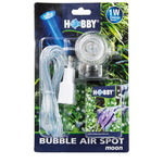 HOBBY Bubble Air Spot Moon spot bleu LED submersible avec diffuseur d'air pour aquarium