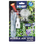 HOBBY Bubble Air Spot Sunrise spot rouge LED submersible avec diffuseur d'air pour aquarium