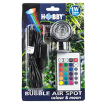 HOBBY Bubble Air Spot Color & Moon spot LED Multicolore submersible avec télécommande et diffuseur d'air