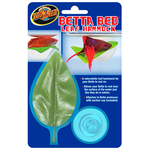 ZOOMED Betta Bed Leaf Hammock hamac sous forme de feuille artificielle pour Betta