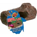 ZOOMED Ceramic Betta Log 10 cm cachette sous forme de buche en céramique pour Betta