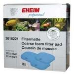 EHEIM 2616221 lot de 3 coussins de mousse bleu pour filtre Eheim 2222, 2224, 2322, 2324, 2422, 2424