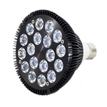 ASAQUA Par38 54W ampoule LEDs haute puissance 18 x 3W avec culot E27 pour aquarium marin