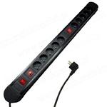 AQUAVIE MCE10 bloc 10 prises interrupteurs et protection contre les surcharges - Puissance maxi 3680W