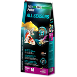 JBL ProPond All Seasons M 5,8 Kg nourriture bâtonnets toutes saisons pour Koïs et autres poissons de bassin de 35 à 55 cm