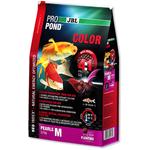 JBL ProPond Color M 2,5 Kg nourriture Koïs spéciale renforcement des couleurs sous forme de perles pour poissons de 35 à 55 cm
