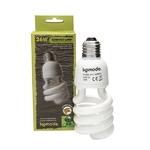 KOMODO Compact Lamp UVB 5.0 ES 26W reproduit la lumière solaire de la forêt avec 5% d'UVB