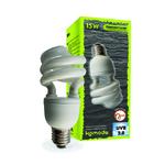 KOMODO Compact Lamp UVB 2.0 ES 15W reproduit la lumière solaire de la forêt avec 2% d'UVB