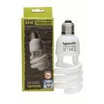 KOMODO Compact Lamp UVB 2.0 ES 26W reproduit la lumière solaire de la forêt avec 2% d'UVB