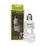 KOMODO Compact Lamp UVB 5.0 ES 15W reproduit la lumière solaire de la forêt avec 5% d'UVB