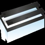 JUWEL Kit de volets de remplacement pour Aquarium Juwel Lido 200. Livré en 2 pièces