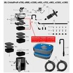 JBL Pièces détachées pour filtre externe JBL CristalProfi e700, e701, e900, e901, e1500 et e1501