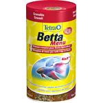 TETRA Betta Menu 100 ml 4 nourritures différentes complètes pour combattants et autres Labyrinthidés