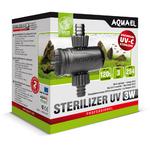 AQUAEL AS 3W stérilisateur UV pour filtre avec tuyau 12/16mm et aquarium jusqu'à 120L