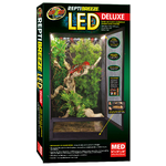 ZOOMED Repti Breeze LED Deluxe NT15E terrarium grillagé 41 x 41 x 76 cm avec réglette Leds pour reptiles