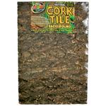 ZOOMED Cork Tile 30 x 45 cm panneau de fond en liège naturel pour terrarium et vivarium