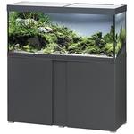 EHEIM Vivaline LED 240 L ensemble aquarium 120 cm avec meuble Anthracite, éclairage LEDs, chauffage et filtre externe Ecco Pro 300