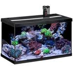 EHEIM AquaStart 63 LED Marin Noir aquarium équipé eau de mer 60 cm 63L disponible avec ou sans meuble