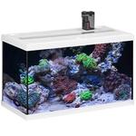 EHEIM AquaStart 63 LED Marin Blanc aquarium équipé eau de mer 60 cm 63L disponible avec ou sans meuble