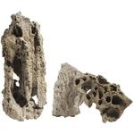 AQUADECO Moonstone prix au Kg roche naturelle pour aquarium d'eau douce, eau de mer et terrarium