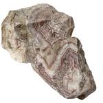 AQUADECO Pink Cloud Rock 0,8 à 1,2 Kg roche naturelle vendue à l'unité pour aquarium d'eau douce et terrarium