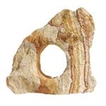 AQUADECO Rainbow Holestone pierre arc en ciel 1 trou pour décoration d'aquarium et terrarium