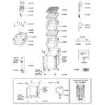 EHEIM Pièces détachées pour filtre externe Eheim Professionel II 2026, 2126, 2028 et 2128