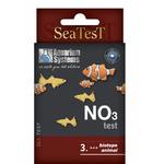 Test Nitrate Aquarium Systems SeaTest NO3 pour aquarium d'eau douce, d'eau de mer et bassin