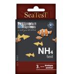Test Ammoniac Aquarium Systems SeaTest NH4 pour aquarium d'eau douce, d'eau de mer et bassin