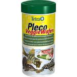 TETRA Pleco VeggieWafers 250 ml aliment complet sous forme de pastilles pour poissons de fond herbivores