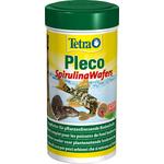 TETRA Pleco SpirulinaWafers 250 ml aliment complet sous forme de pastilles pour poissons de fond herbivores de grande taille
