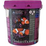 AQUARIUM SYSTEMS Instant Océan 25 kg sel pour aquarium marin sans ou avec peu de coraux. Donne 750L d'eau de mer