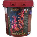AQUARIUM SYSTEMS Reef Crystals 25 kg sel pour aquarium récifal avec coraux. Donne 750L d'eau de mer