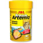 JBL NovoArtemio 100 ml artemias lyophilisées pour l'alimentation des poissons d'eau douce et d'eau de mer