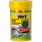 JBL Novo Vert 100 ml flocons de spirulines au plancton pour poissons herbivores