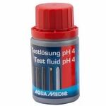 AQUA MEDIC pH 4 60 ml solution d'étalonnage pour électrode pH ou pH-mètre