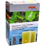 EHEIM Lot de 2 cartouches de remplacement pour filtre AquaCorner 60
