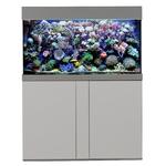 AQUA MEDIC Magnifica 100 Argent kit aquarium 320L équipé eau de mer avec meuble