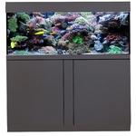AQUA MEDIC Magnifica 130 CF Graphite-Noir kit aquarium 425L équipé eau de mer avec bac de décantation et meuble
