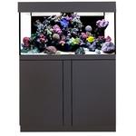 AQUA MEDIC Magnifica 100 CF Graphite-Noir kit aquarium 320L équipé eau de mer avec bac de décantation et meuble